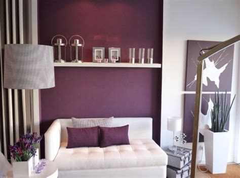 purple accent wall in living room purple rooms and interior design inspiration