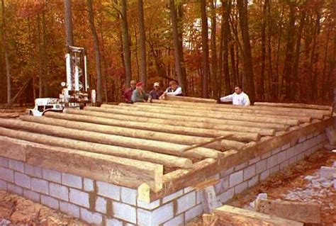 Foundation For Log Cabin by 1000 Images About Log Homes On Log Houses