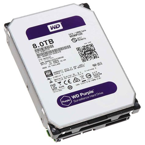 Harddisk Wd Purple 1tb wd 8tb purple surveillance drive taipei for computers