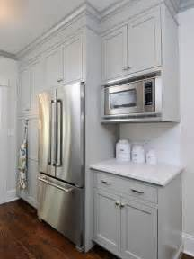 Gray Painted Kitchen Cabinets by Gray Green Cabinet Paint Color Cottage Kitchen