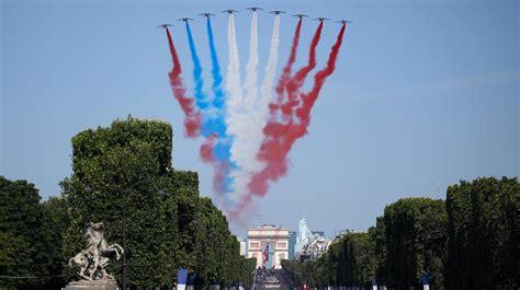 militaerparade  paris nationalfeiertag  falschen