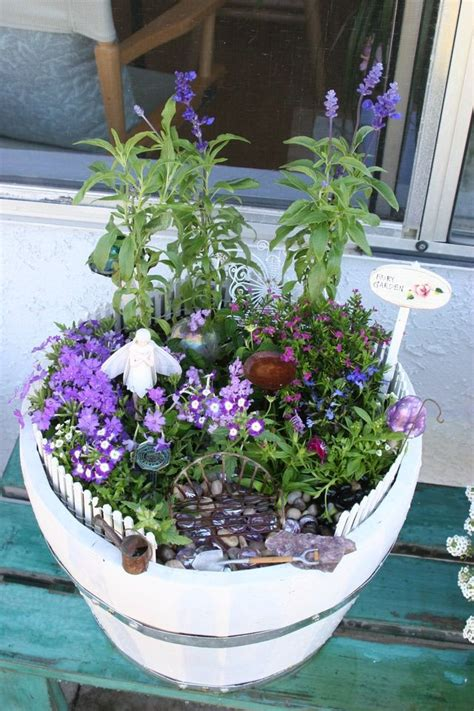 fairy garden  magical ideas gardens