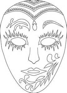 mascaras de carnaval para colorear contuspropiasmanos com