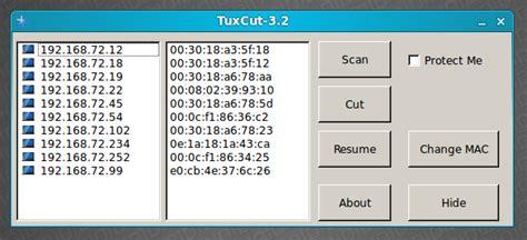 tutorial dsniff ubuntu internet tuxcut pemotong koneksi internet