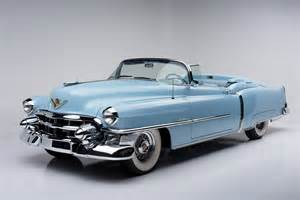 1953 Cadillac Eldorado Convertible Countdown To Barrett Jackson Scottsdale 1953 Cadillac