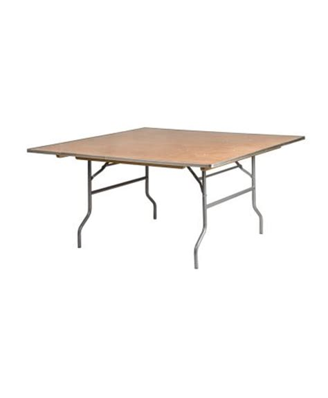 42 wide folding table 60 quot square tables a chair affair inc