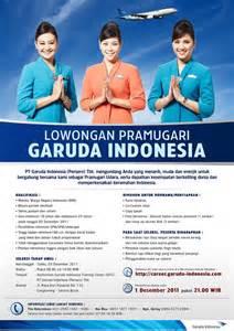 garuda indonesia flight attendant recruitment jakarta