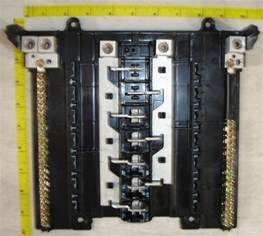 ge lug circuit breaker panel interior general electric14 24 space 125 ebay