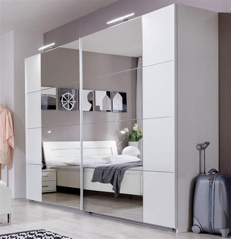 schlafzimmerschrank spiegelfront armoire porte coulissante pas cher