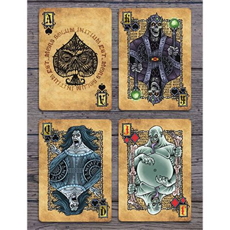 Bicycle Grimoire Cards the grimoire series necromancy cards