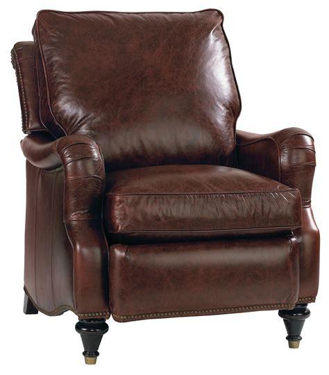 bassett leather recliner bassett oxford 3544 3l high leg recliner dunk bright