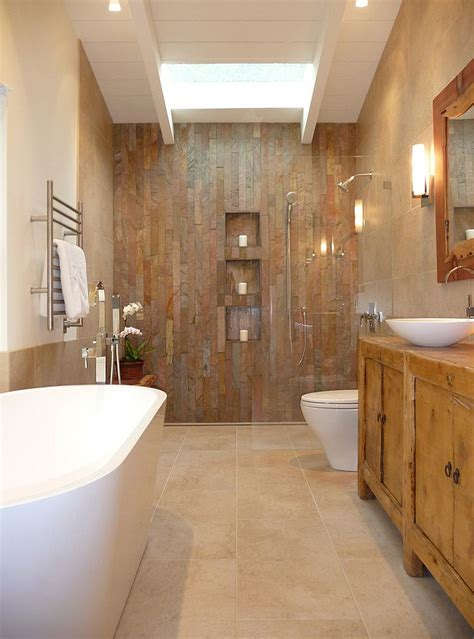 rustic bathroom tile 50 enchanting ideas for the relaxed rustic bathroom