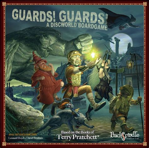 Guards Guards Discworld The City Collection guards guards a discworld boardgame