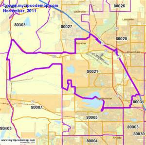 broomfield colorado map zip code map of 80021 demographic profile residential