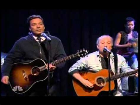 paul simon cecilia stomp jimmy fallon paul simon cecilia youtube