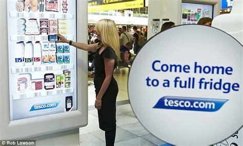home design virtual shops tesco opens virtual shop inside gatwick so you can fill