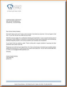 Letter To Teacher For Dentist Appointment 7 Dental Letter Templates Executive Resume Template