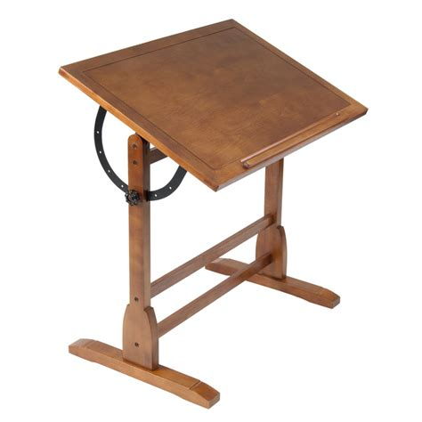 Studio Designs 36 Quot Vintage Drafting Table Color Rustic Drafting Tables