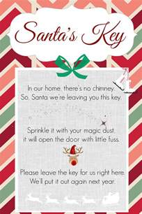 Ornaments To Personalize How To Make Santa Keys Free Printable Nelliebellie