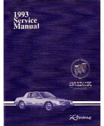 service manual 1998 buick riviera body repair procedures and standards 1998 hummer h1 body 1993 buick riviera body chassis electrical service manual