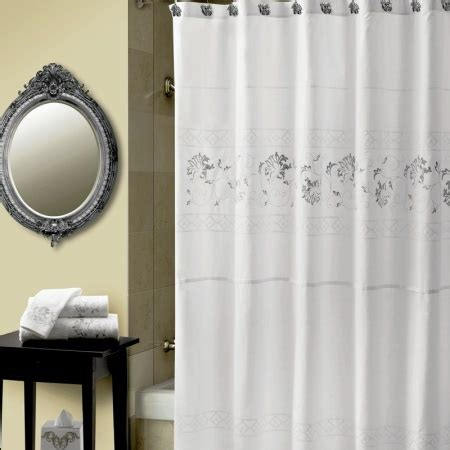 croscill romance shower curtain croscill romantique shower curtain the fine white