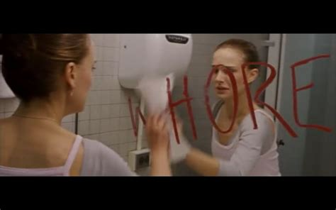 mirrors movie bathroom scene black swan and bathrooms mirror motion picture commentary