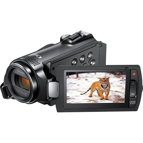 full hd video camera samsung hmx h204bn full hd camcorder hmx h204bn xaa b h photo