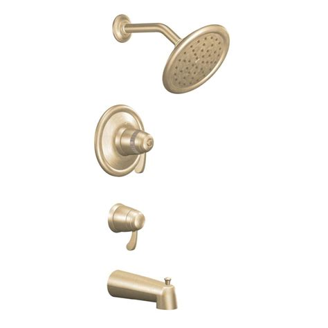 Moen Shower Base Faucet Ts3450bb In Brushed Bronze By Moen