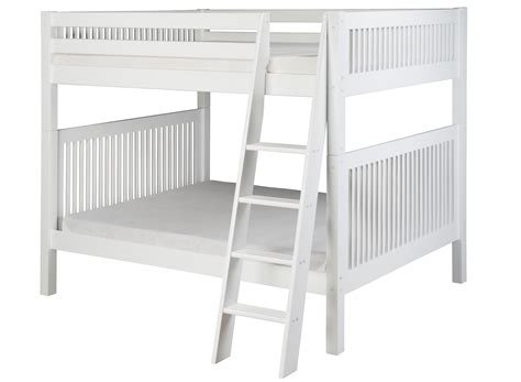 bunk beds full over queen queen loft bed with desk and storage