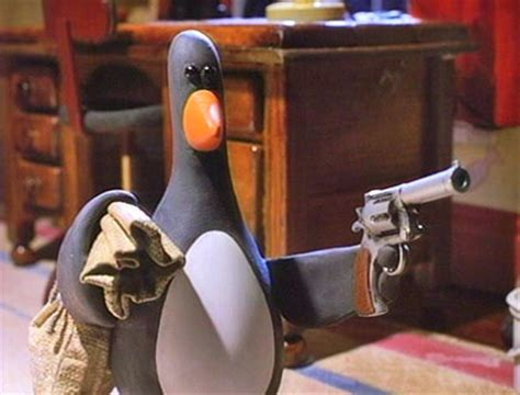 Wallace And Gromit Ask You To Wear Wrong Trousers by Feathers Mcgraw Villains Wiki Villains Bad Guys