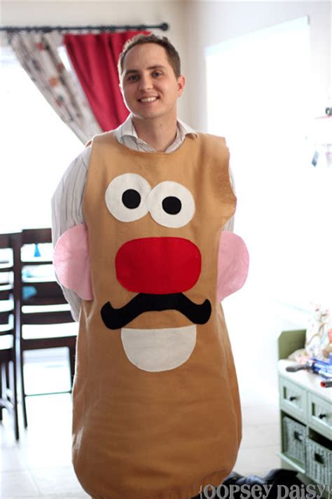 diy  potato head costume allfreesewingcom