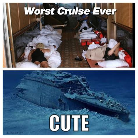 Cruise Ship Meme - carnival triumph worst cruise ever