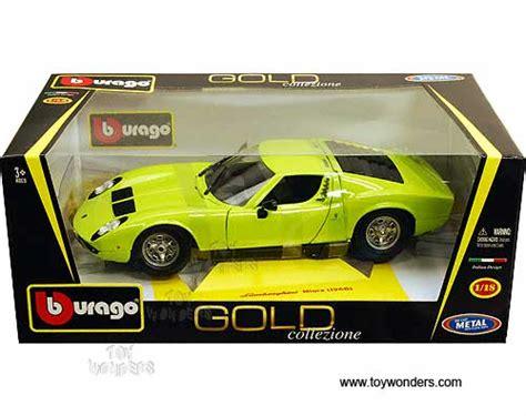 BBurago Gold   Lamborghini Miura Hard Top (1968, 1/18
