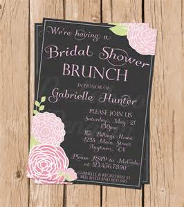 bridal shower brunch invitations vintage bridal shower