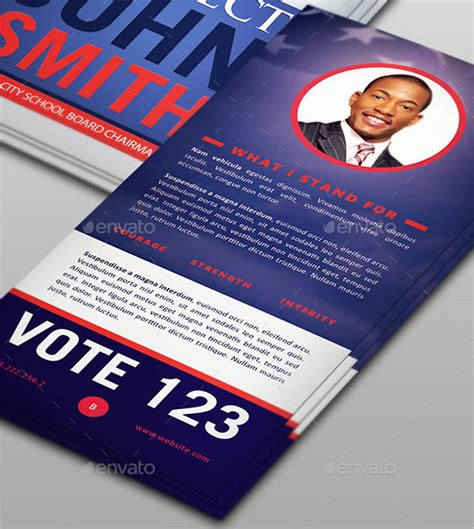 Political Palm Card Template Word palm card template 10 free printable word pdf psd