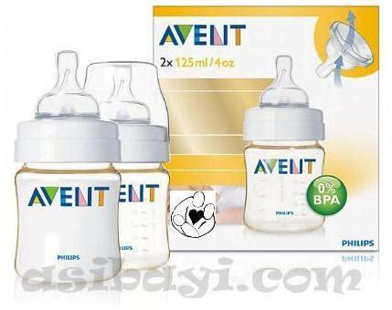 Philips Avent Bottle 260 Ml Isi 2 Botol Newborn Botol Asi avent philips baby bottle bpa free pes asibayi