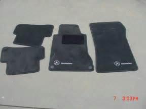 Floor Mats Mercedes C Class Genunine Mercedes Carpet Floor Mats C Class W203 2001 2007