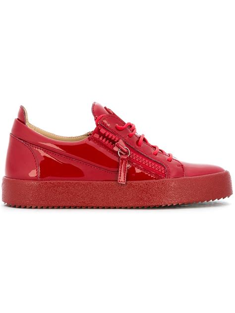 low top giuseppe sneakers giuseppe zanotti vegas low top sneakers in multicolor