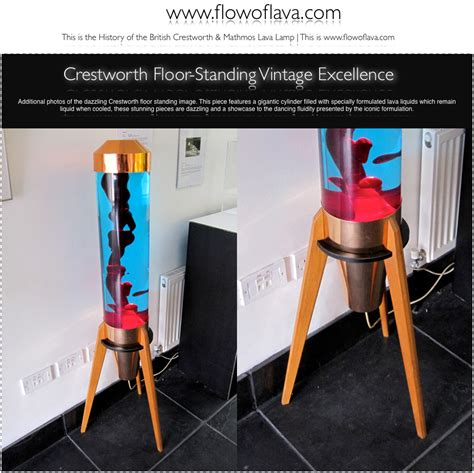 Floor Lava L Uk by The History Of The Astro L Crestworth Floor Standing