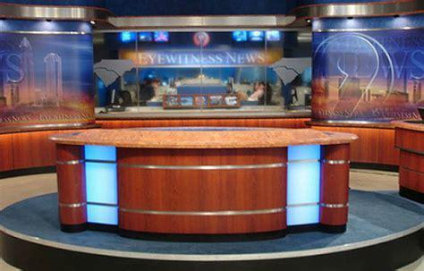 Abc News Desk by Newsroom Set Gallery