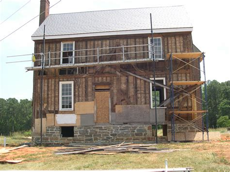 old house restoration insulation