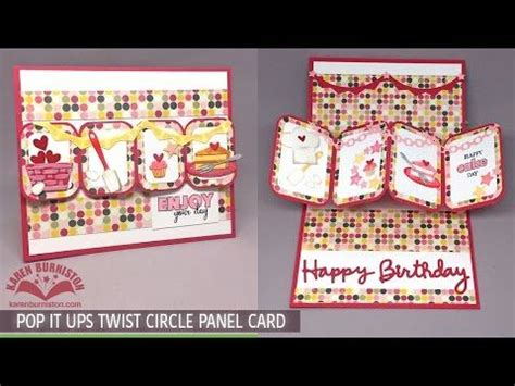 make magic card 25 best images about pop it ups twist circle panel cards