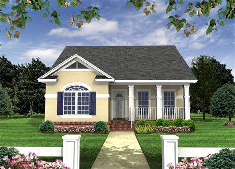 European Small Home Designs Country European Southern Traditional House Plan 59118
