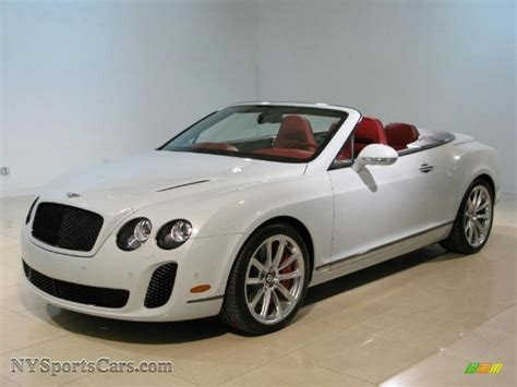 bentley sports car white 2011 bentley continental gtc supersports in white