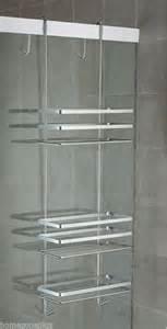 shower door storage best 25 hanging shower caddy ideas on shower