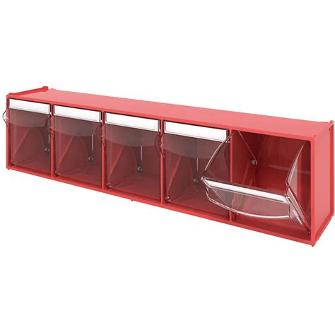tilt and lock storage bins in small parts storage tilt bins tilting box workshop van storage tiltbox