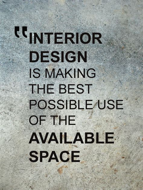 Interior Design Quote by Skills For Successful Interior Designers Skills Academy