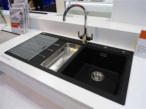 top kitchen sinks best 25 black kitchen sinks ideas on black