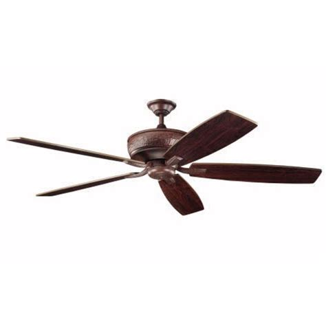 kichler 70 inch ceiling fan with five blades 300106tz