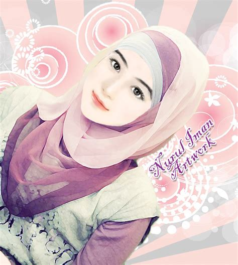 wallpaper anime muslimah sweetie muslimah girl by imantomey92 deviantart com on